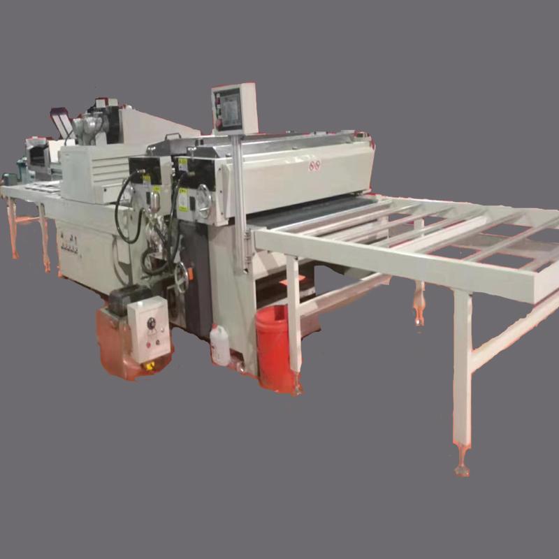 广告行业PVC板辊涂生产线